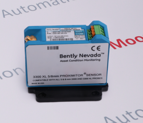 330180-50-00 | Bently Nevada | 3300XL Proximitor Sensor