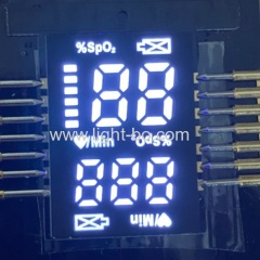 Ultra white Hot sale ultra thin 2.8mm ONLY customized SMD LED Display for Finger Pulse Oximeters