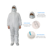 Zipper Design Protective Clothing