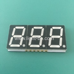 "Ultra thin super bright red 0.56"" Triple Digit SMD 7 Segment LED Display common anode for instrument poanel"