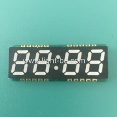 Ultra thin white color 4 Digit 0.39inch SMD 7 Segment LED Clock Display common anode for clock