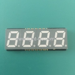 Super bright red 0.39inch 4 digit 7 Segment SMD LED Display common anode with 3.75mm thickness ONLY