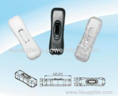 Cord switch to lighting products
