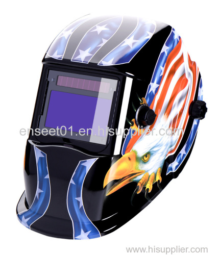 Auto-darkening Welding Safety Helmet