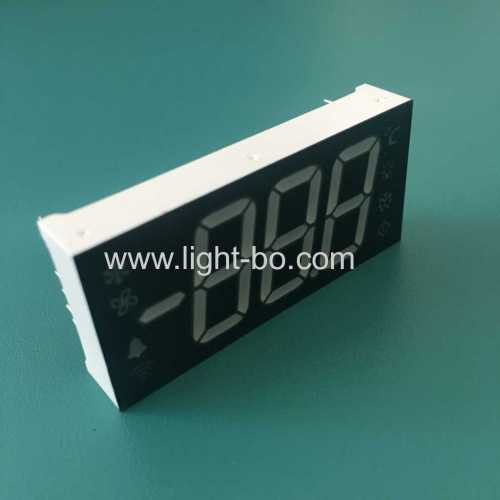 Super bright Green Triple Digit 7 Segment LED Display Common Cathode for refrigerator controller