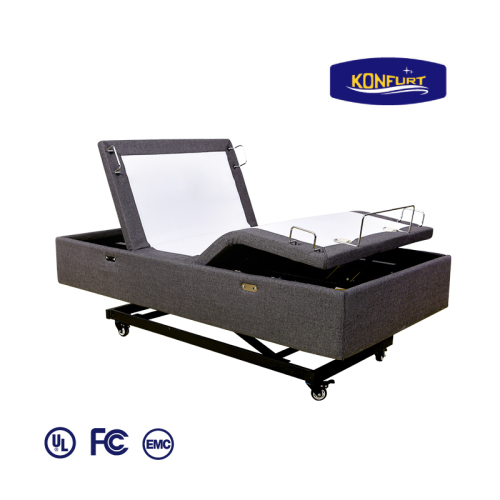 Hi low Home care and nursing Electric bed base