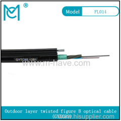 Outdoor all-dielectric self-supporting optical cable GYTC8S series