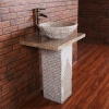 G682 Granite Pedestal Sink