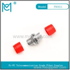 FC-FC coupler fiber optic flange fiber optic coupler connector adapter carrier grade flange