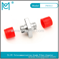 FC fiber coupler connector adapter fc large square flange carrier grade fiber optic flange