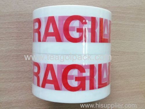 Set of 2 Packaging Tape 48mmx50M with  Fragile  Printed