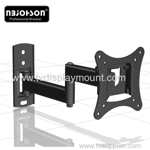 "Full Motion LCD TV Wall Mounts 13""-27"" Screen 180° Swivel"