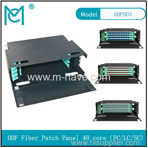 ODF fiber patch panel-48 core Optical fiber junction box distribution box