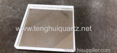 Transparent quartz sheet quartz plate