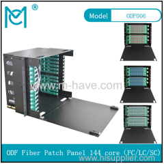 ODF fiber patch panel-144 ports Optical fiber junction box distribution box