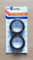 2 Pack Electrical Tape Black