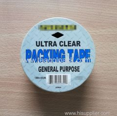 "Ultra Clear Packing Tape 1.89""x55Yds General Purpose"
