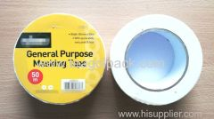 General Purpose Masking Tape 50mmx50M White