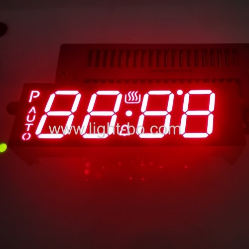 "Customized Ultra Red 0.56"" 4 Digit LED Display Common Anode for Oven Control"