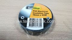 PVC Electrical Insulation Tape Black 19mmx20M