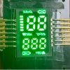 Customized ultra thin pure green SMD LED Display for Finger Pulse Oximeters