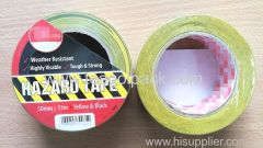 Barrier Tape Yellow/Black 50mmx33M Hazard Tape Yellow/Black 50mmx33M