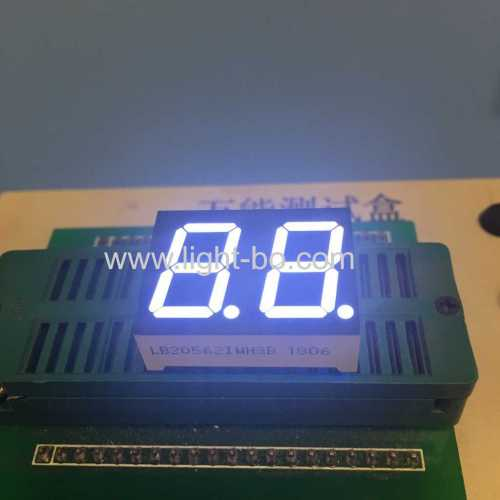 Ultra white 0.56inch Dual Digit 7 Segment led display common anode for home appliances
