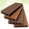 Outdoor Raw Material Anti-uv hollow Wood Plastic Composite Decking Timber Wpc Decking