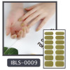Imported Material Nail Sticker W/ Solid Color Or Glitter 14 Nails