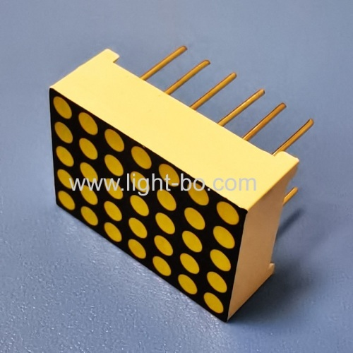 Ultra white 0.7  5 x 7 Dot Matrix LED Display Row cathode column anode for elevator