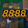 Ultra thin Orange color 0.56inch 4 Digits 7 Segment SMD LED Display for home appliances