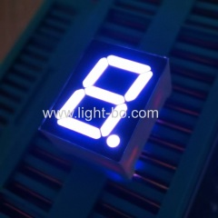 "Ultra bright white Single-Digit 0.39"" Common Cathode 7-Segment LED Display for instrument panel"