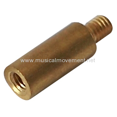 ROUND THREADED SHAFT MUSIC BOX WINDING KEY EXTENDER