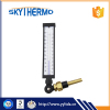 Light Weight Best price list v-shaped industrial glass thermometer