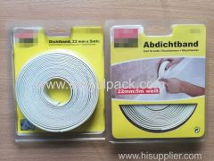 22mm Wx5m L Wall&Countertop Caulk Strip Tape White