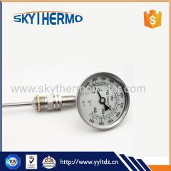 Serviceable Wholesale bimetal dial meters and instruments thermometer