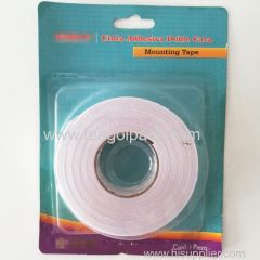 2cm Wx2.28m L Double Side EVA Foam Tape White Double Sided Mounting Tape White