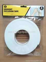2PACK Weatherproof Foam Tape 9mmx4.5M 2PACK Draught Exclusion Tape for Windows&Door use 9mmx4.5M