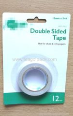 12mmx5M Double Sided Tissue Tape White
