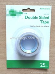 25mmx5M Double Sided Tissue Tape White