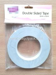 12mmx50M Double Sided Tissue Tape White