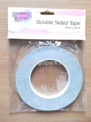 9mmx50M Double Sided Tissue Tape White