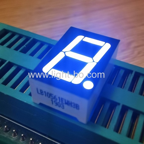 "Ultra white Single Digit 0.56"" 7 Segment LED Display common cathode for digital indicator"