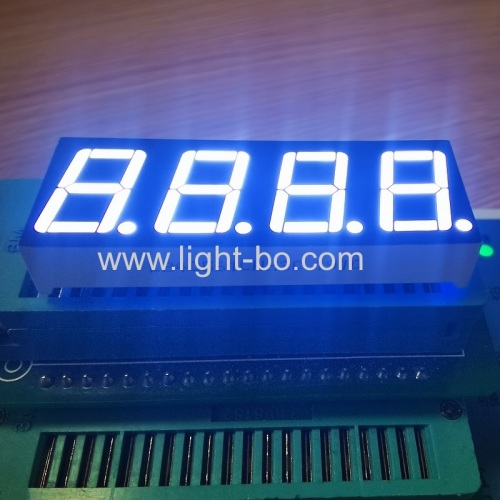 Ultra white 0.56inch 4 Digit 7 Segment LED Display common cathode for Instrument Panel