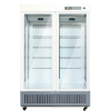 2~8 Degree Commercial Two Glass Door Vaccine Refrigerator with CE for Medical Equipment