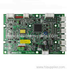Toshiba Elevator Spare Parts COP-501 UCE1-717C5 2N1M3516-C PCB Car Display Board