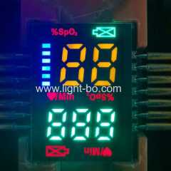 Hot sales Customized ultra thin Multicolour SMD LED Display for Finger Pulse Oximeters