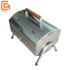 Barbeque Charcoal Stainless Steel Grill With Wooden Handle