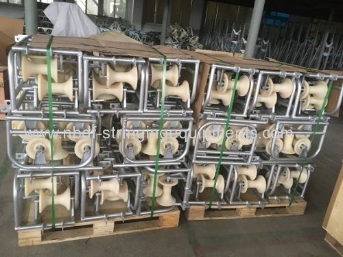 Underground Cable Rollers Exported