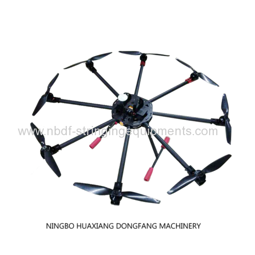 8 axles drones for stringing transmission line
